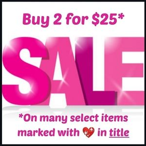 Please Share! #AGFPSALE Buy 2 for $25 New items